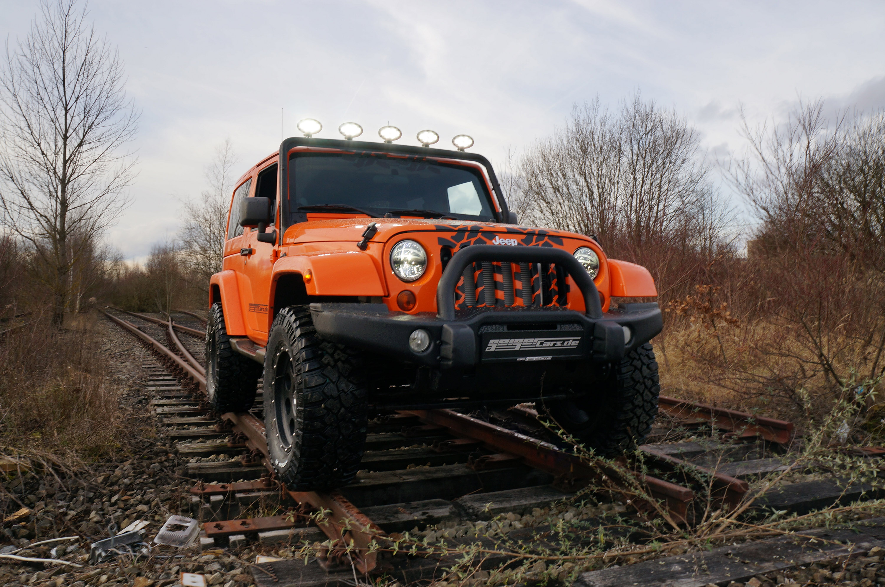GeigerCars Jeep Wrangler Sport Supercharged photo #1