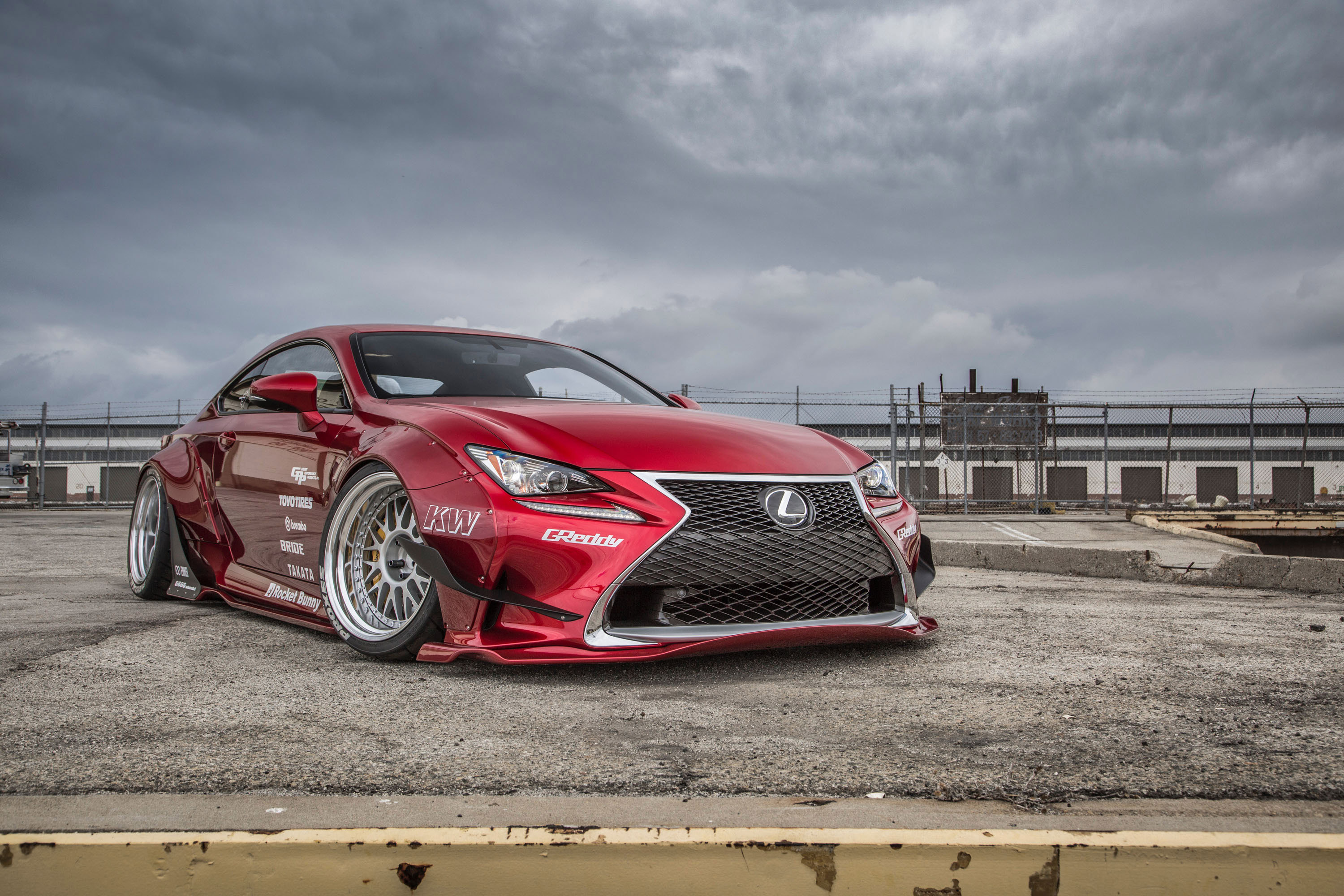 Gordon Ting Lexus RC 350 F SPORT photo #1