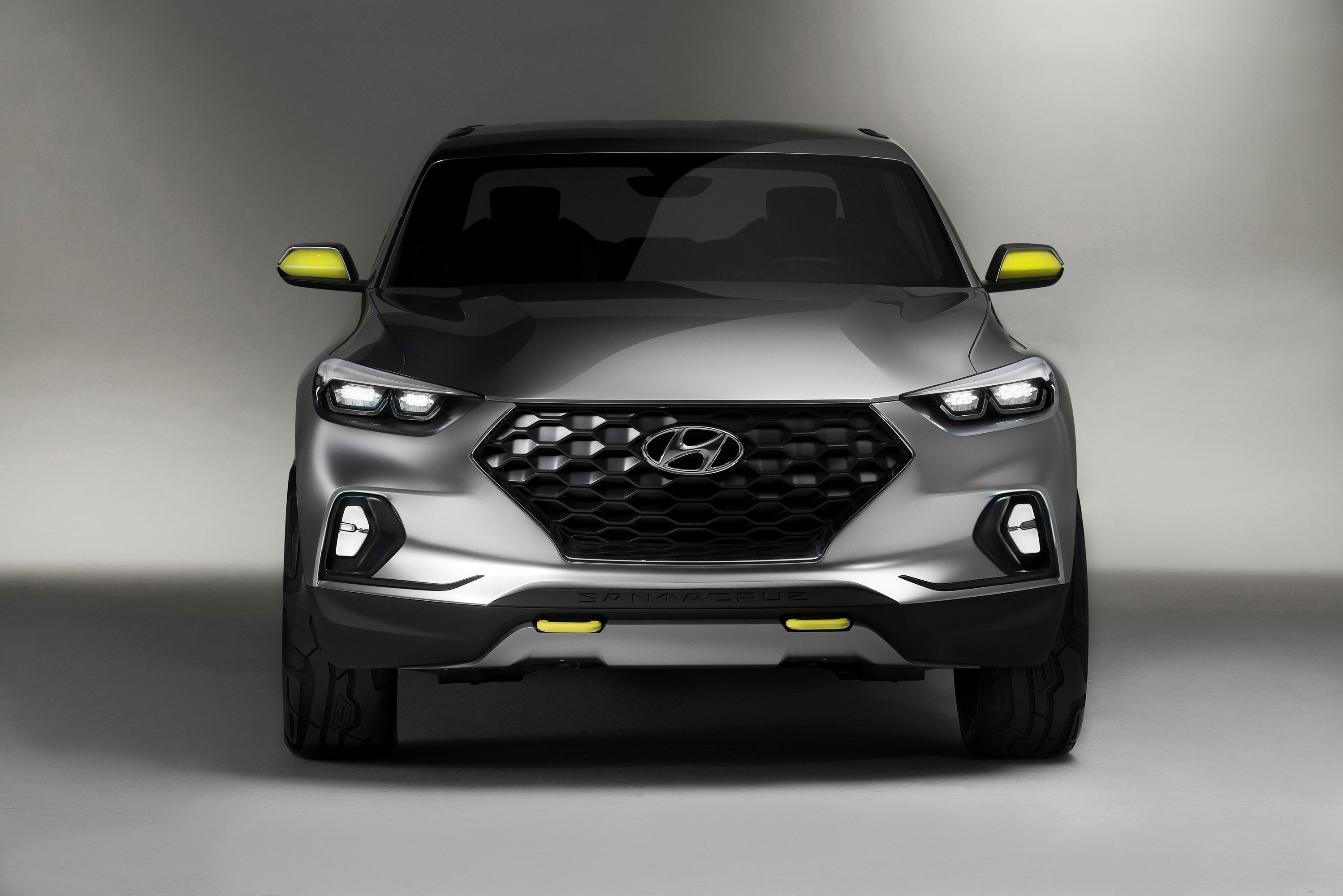 Gallery: Hyundai Santa Cruz Crossover Truck Concept (2015)
