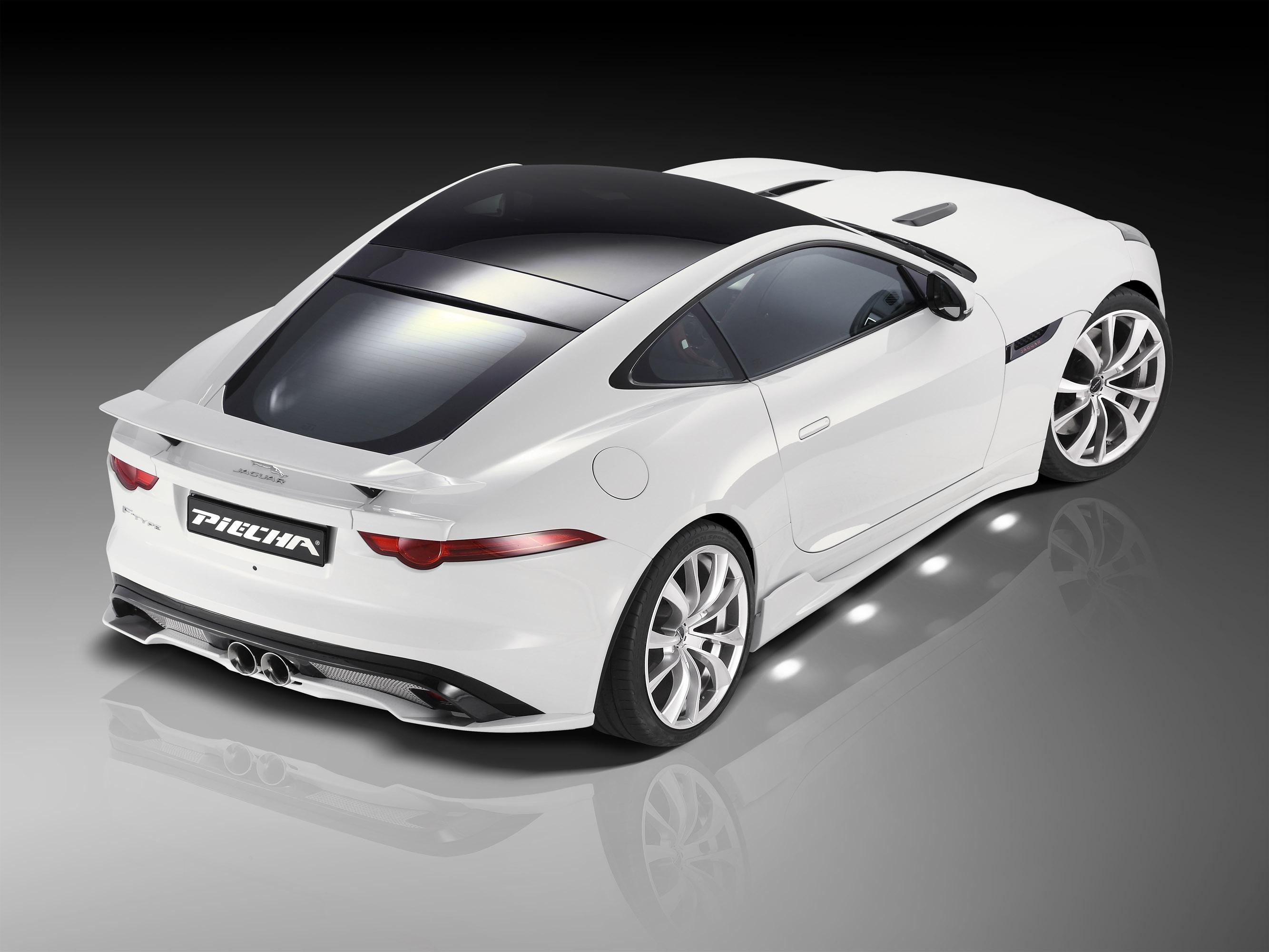 Jaguar F Type Convertible >> 2015 Piecha Design Jaguar F-Type V6 Coupe - HD Pictures ...