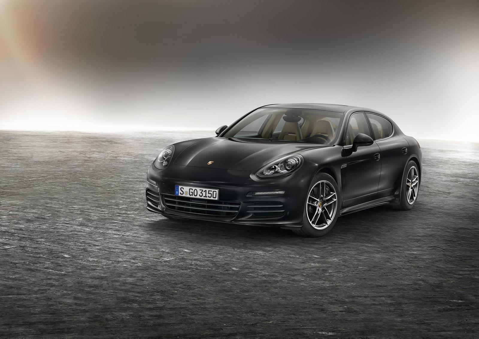 Porsche Panamera Edition photo #1