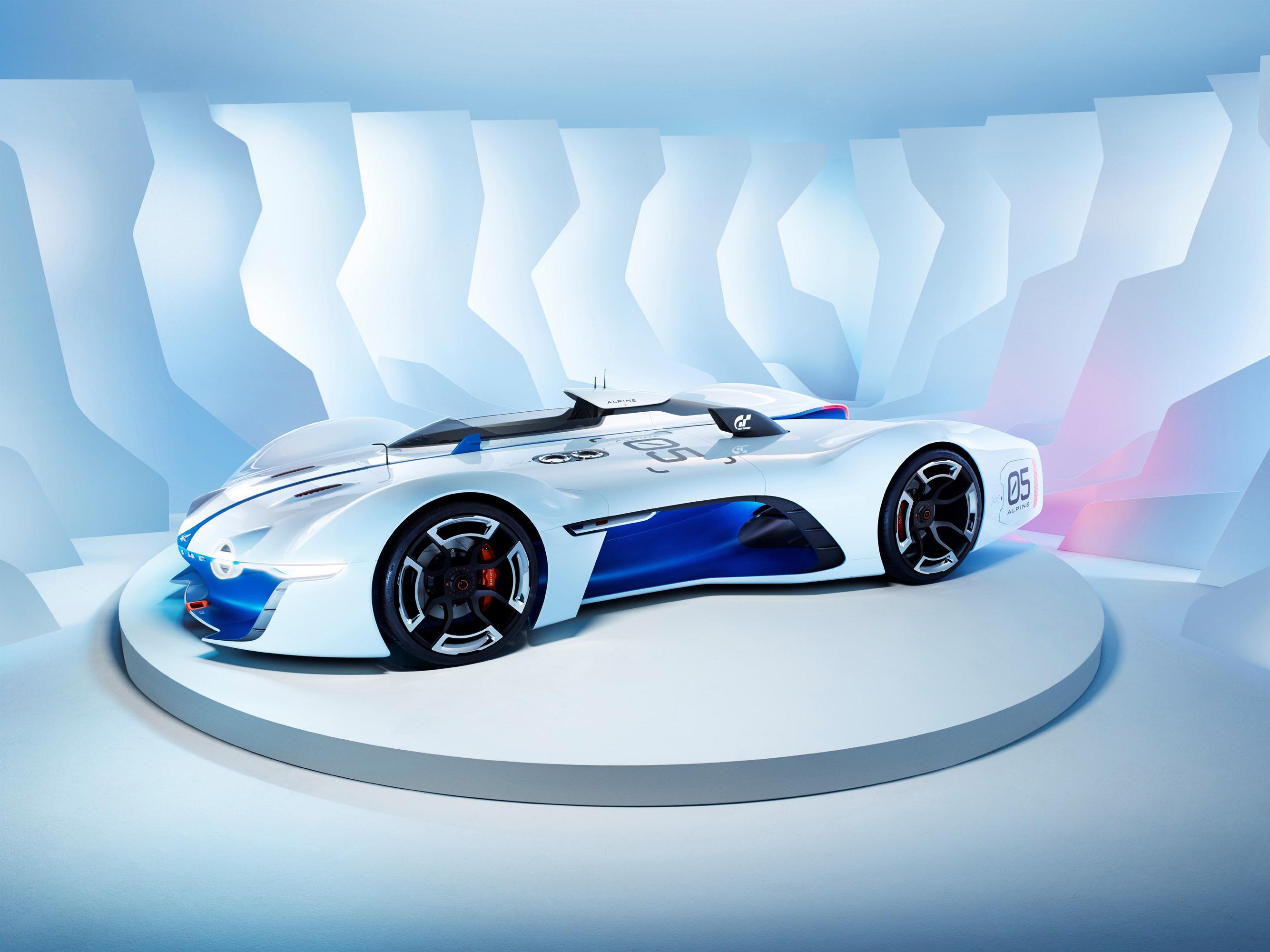 Renault Alpine Vision Gran Turismo Concept photo #1