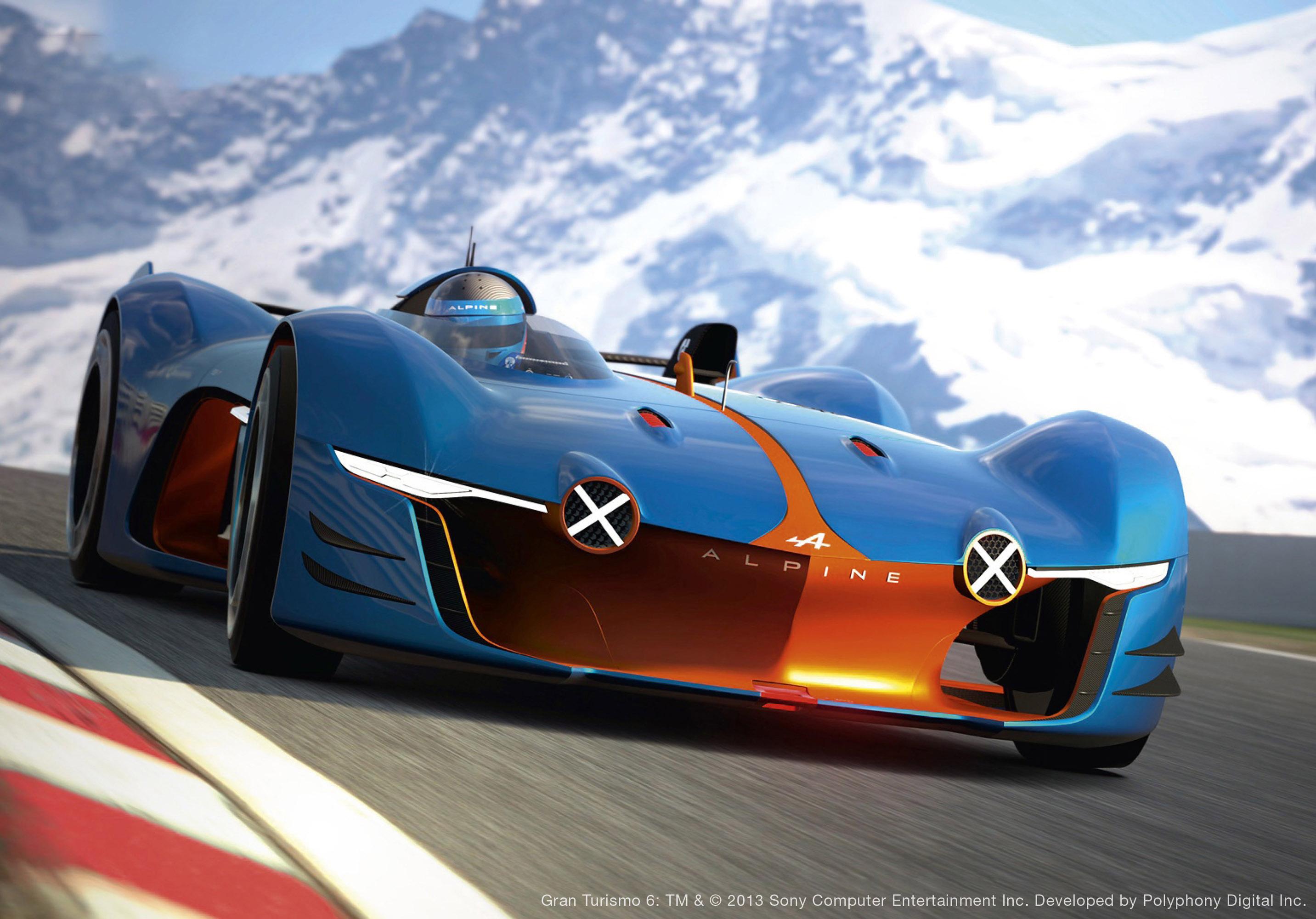 Renault Alpine Vision Gran Turismo Concept photo #2