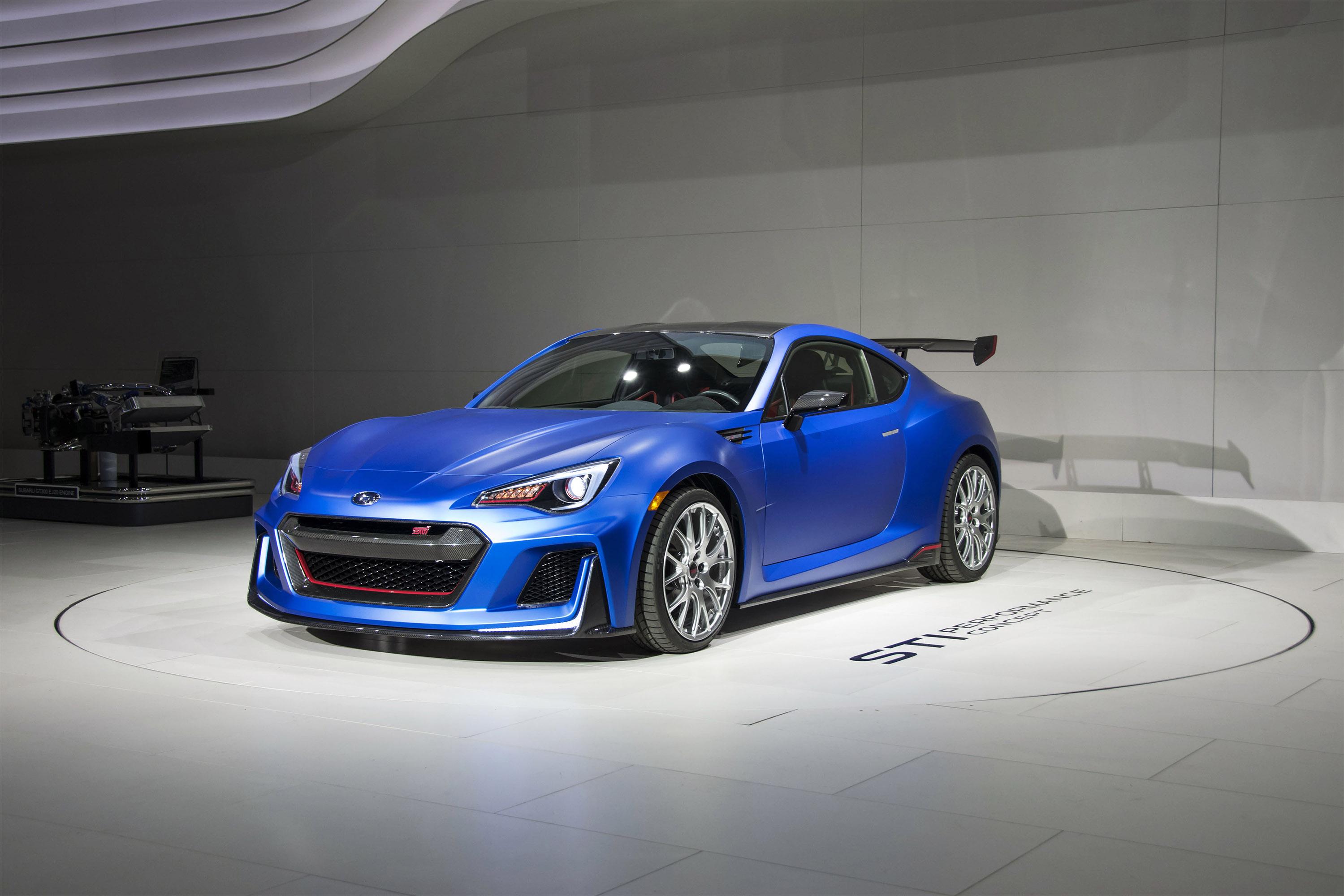 2015 Subaru Brz Sti Performance Concept Hd Pictures