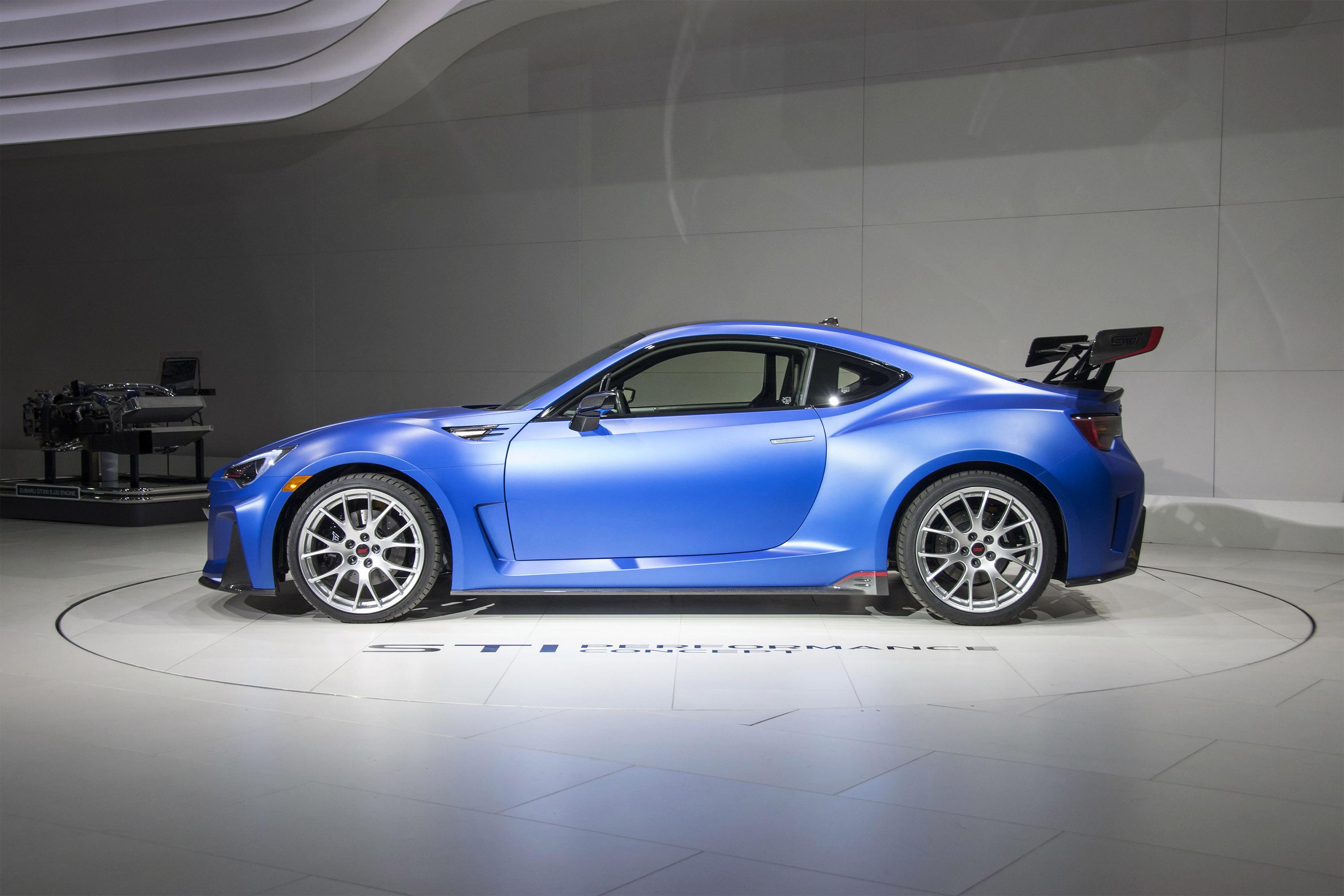 2016 Kia Optima Accessories >> 2015 Subaru BRZ STI Performance Concept - HD Pictures ...