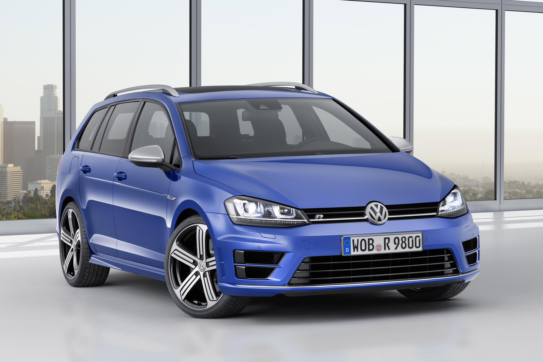 Volkswagen Golf R Variant, 2015, 01