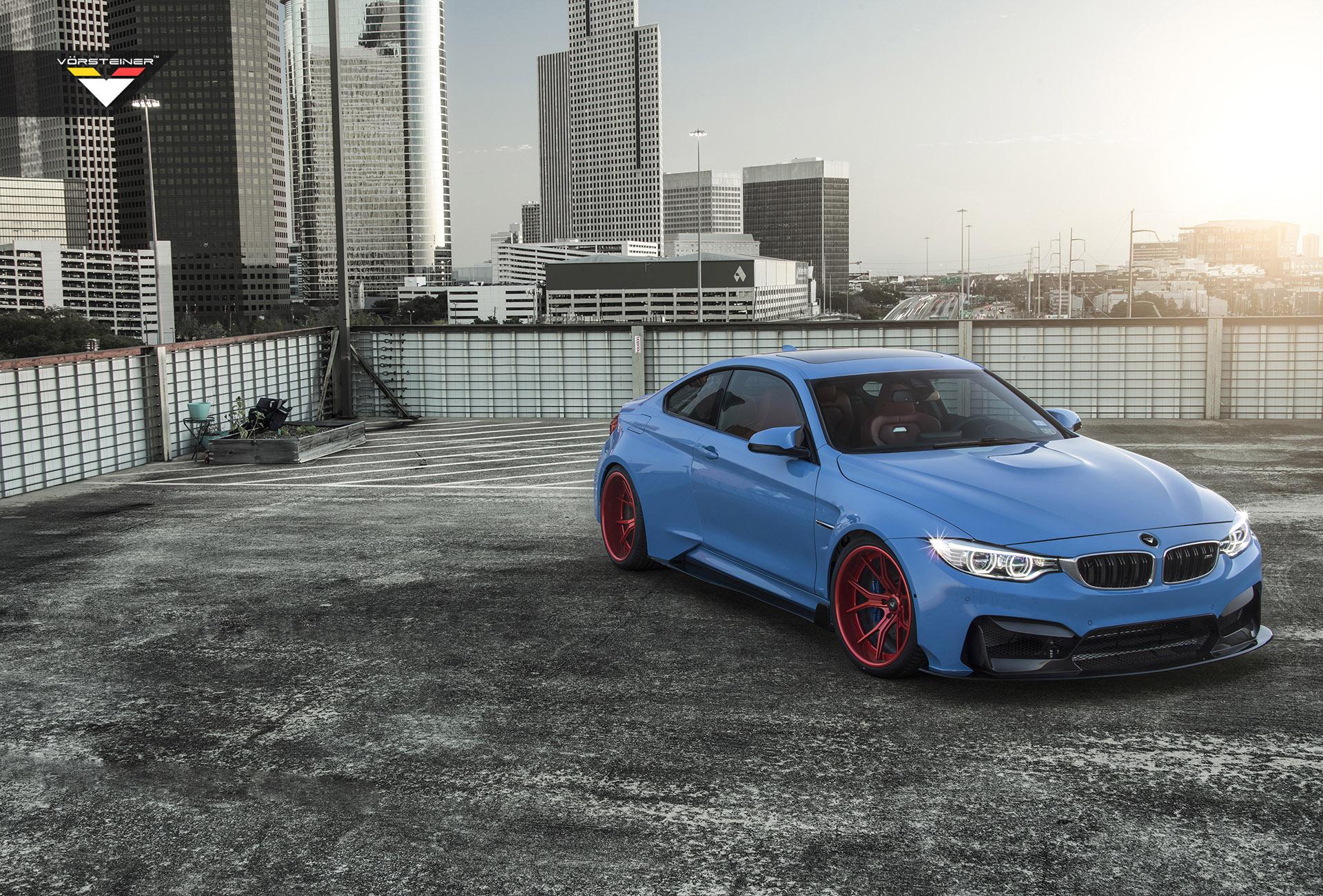 Vorsteiner BMW M4 GTRS4 Yas Marina Blue photo #1
