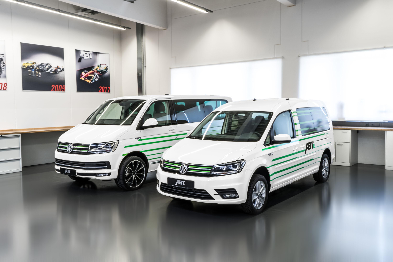 ABT VW e-Caddy IAA photo #1