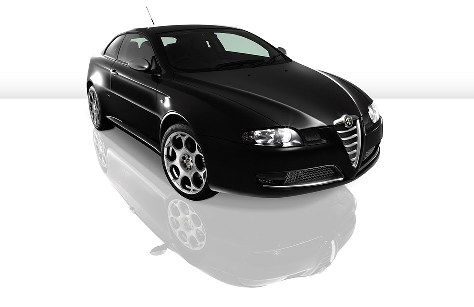 2007 Alfa Romeo Limited Edition Alfa GT Blackline Front Angle