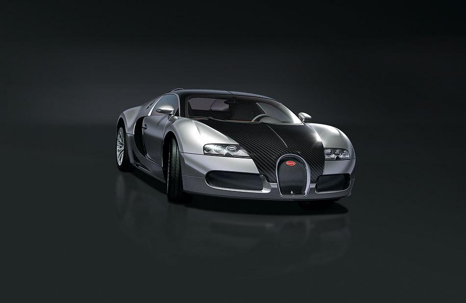 2008 Bugatti EB 16.4 Veyron Pur Sang Front Angle
