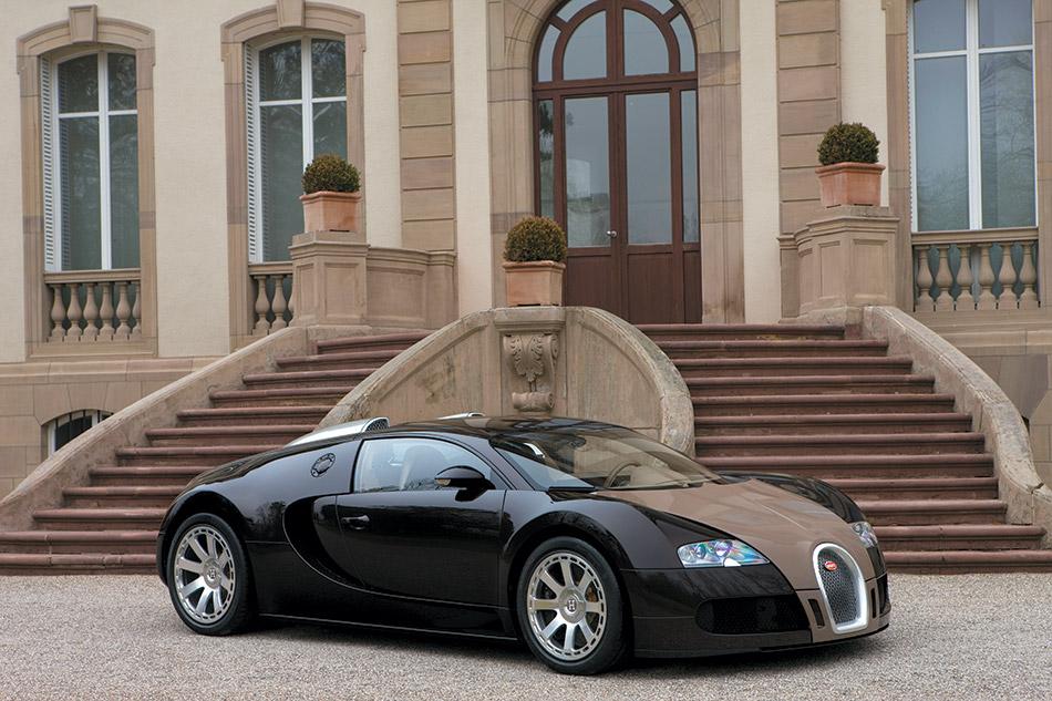 2008 Bugatti Veyron Fbg par Hermes Front Angle