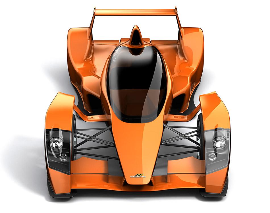 2009 Caparo T1 Front