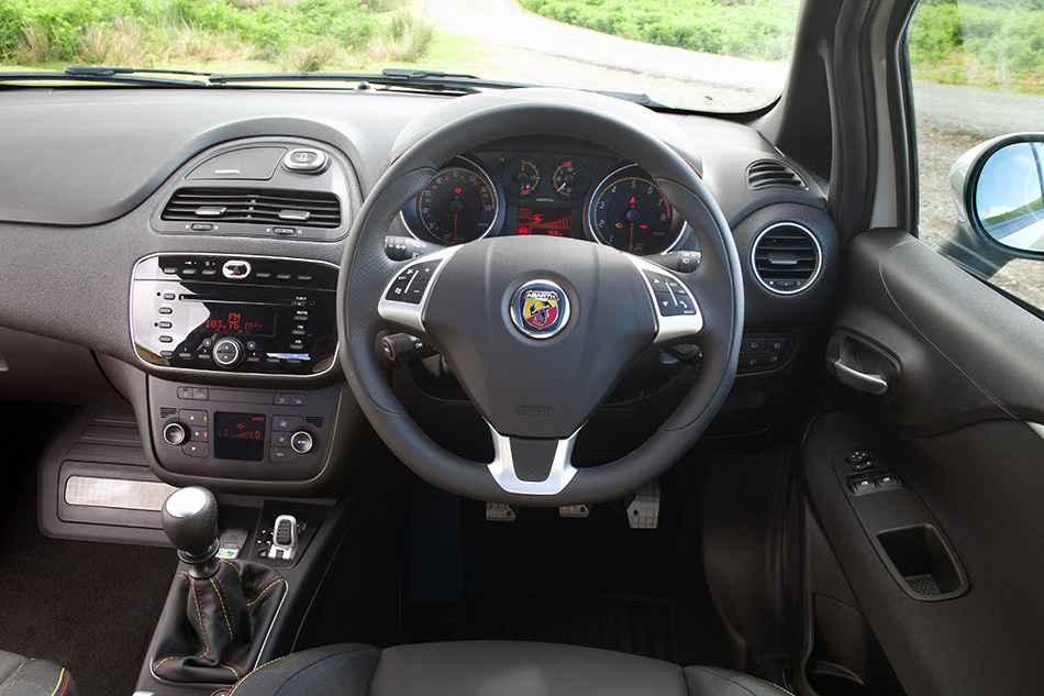 2010 Abarth Punto Evo Interior