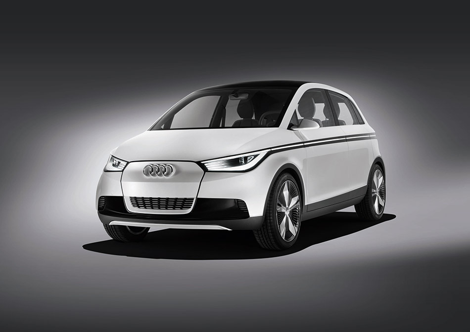 2011 Audi A2 concept Front Angle