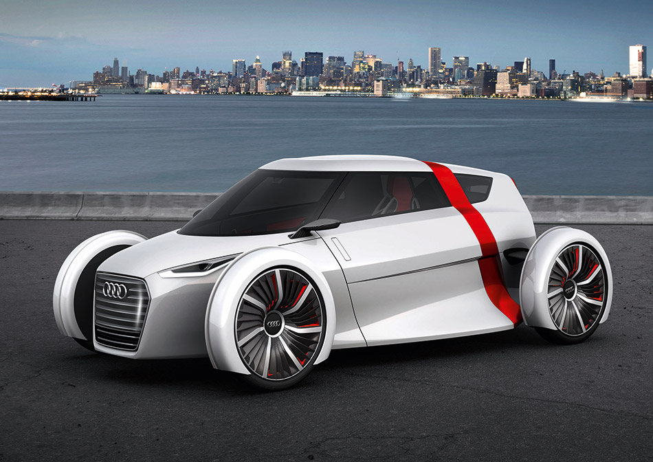 2011 Audi Urban Concept Spyder Front Angle