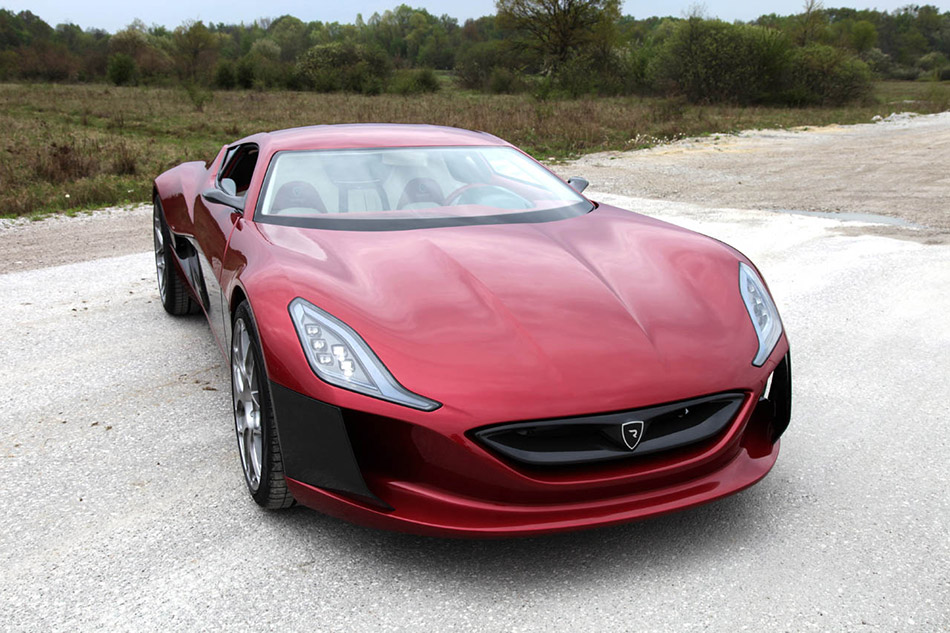 2011 Rimac Concept One Front Angle