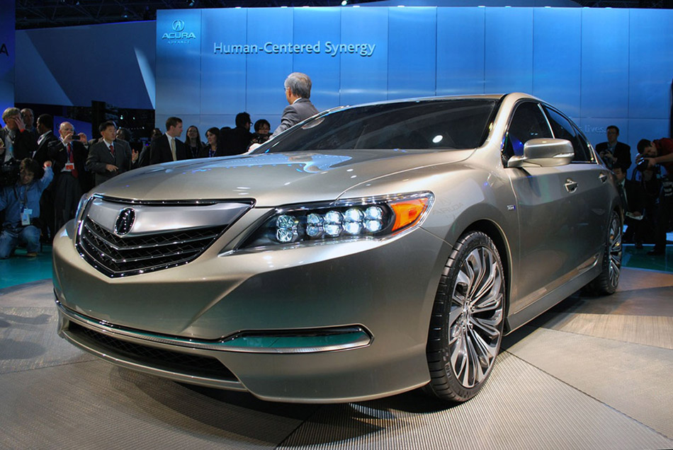 2012 Acura RLX Concept Front Angle