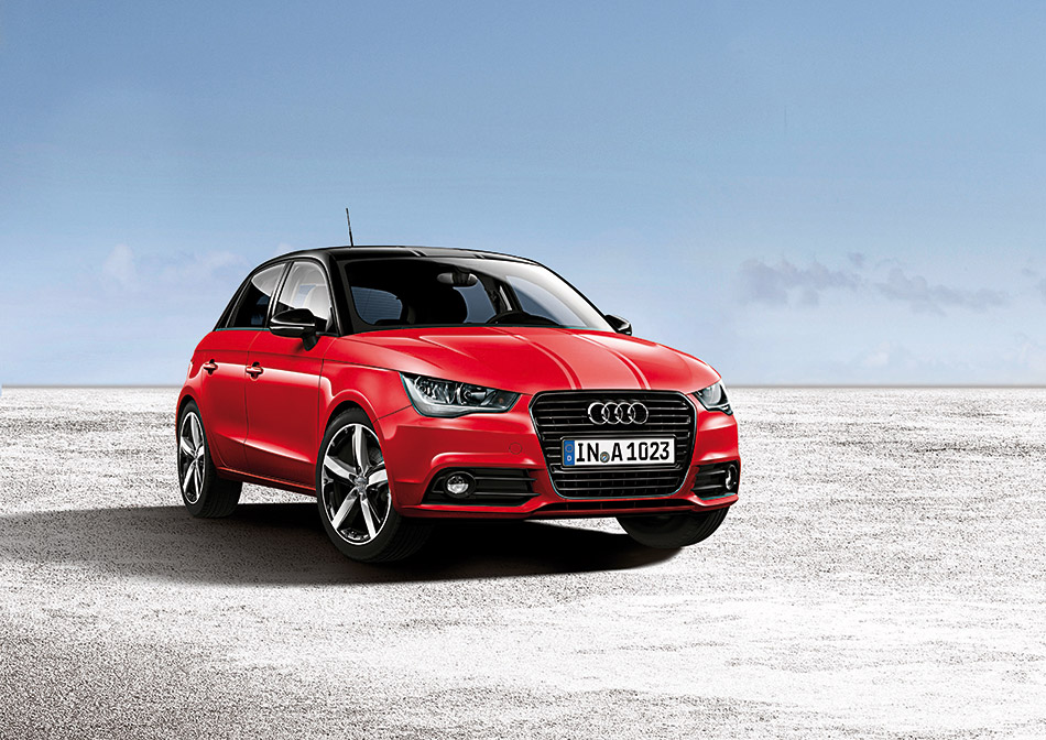 2012 Audi A1 Amplified Edition Front Angle