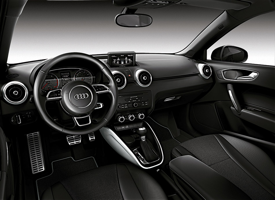 2012 Audi A1 Amplified Edition Interior