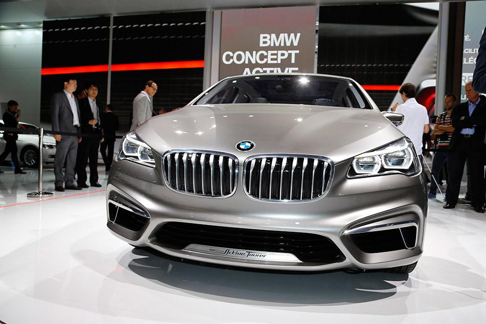 2012 BMW Concept Active Tourer Front