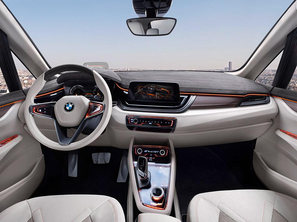2012 BMW Concept Active Tourer Interior