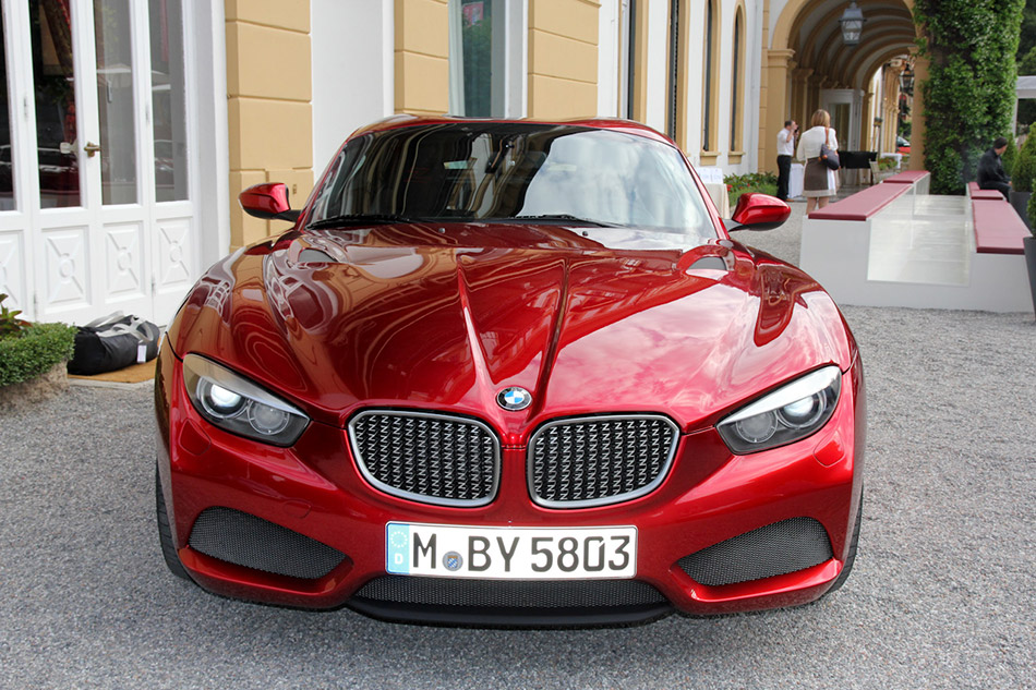 2012 BMW Zagato Coupe Front