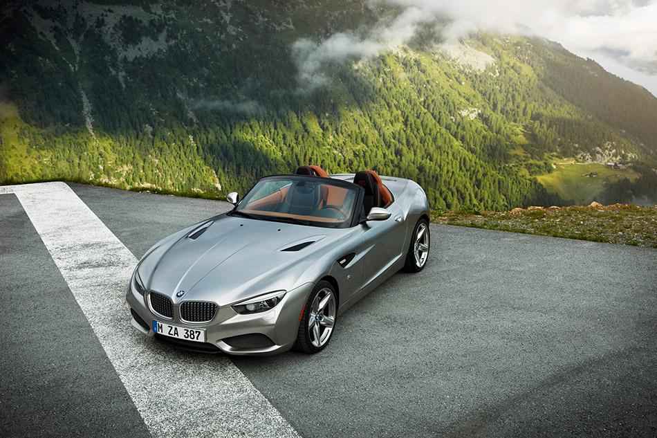 2012 BMW Zagato Roadster Front Angle
