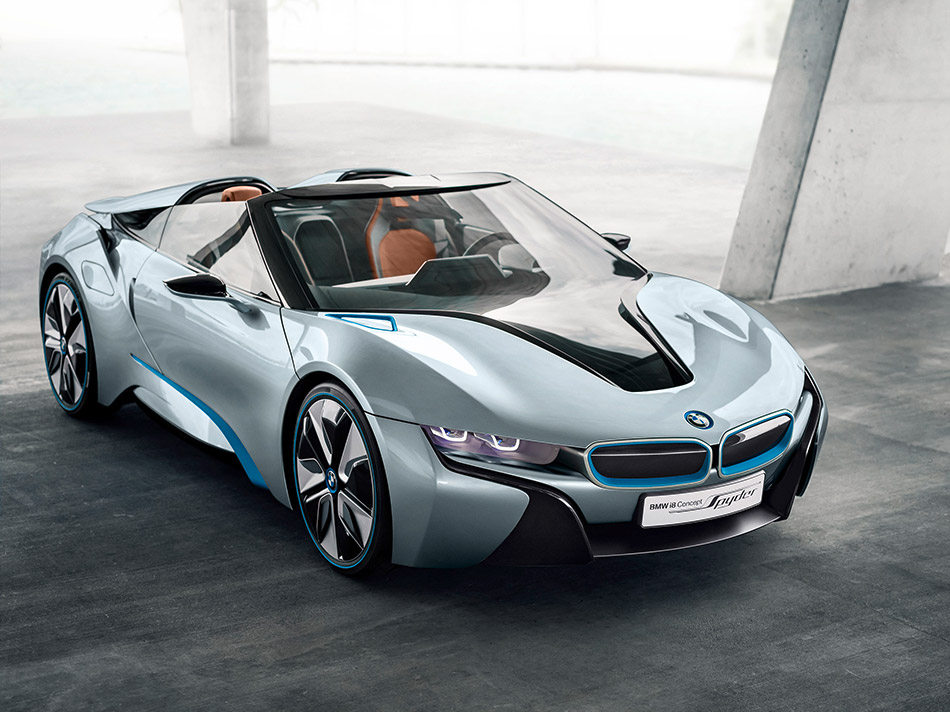 2012 BMW i8 Spyder Concept Front Angle