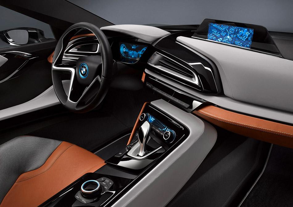2012 BMW i8 Spyder Concept Interior