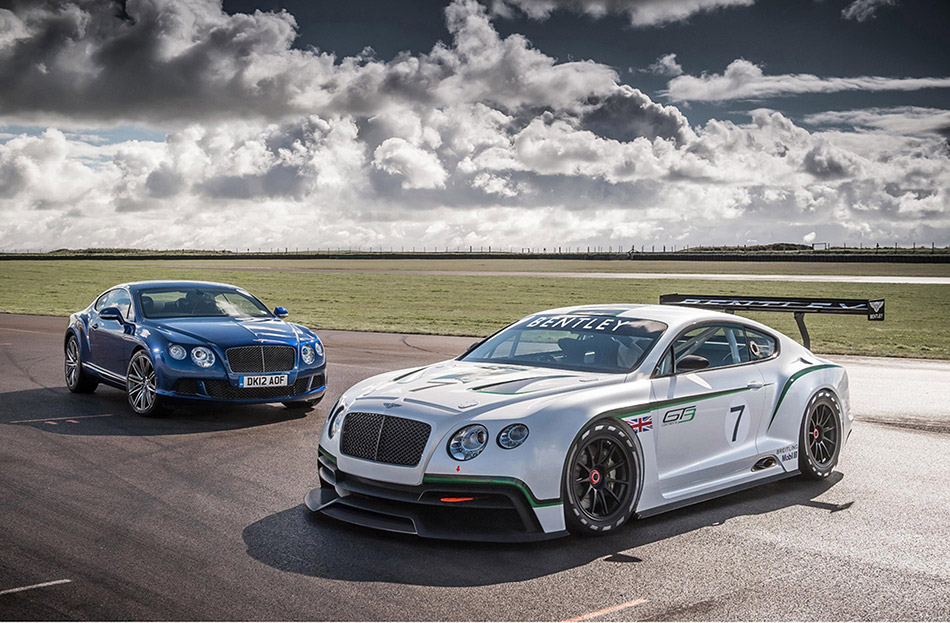 2012 Bentley Continental GT3 Concept Front Angle