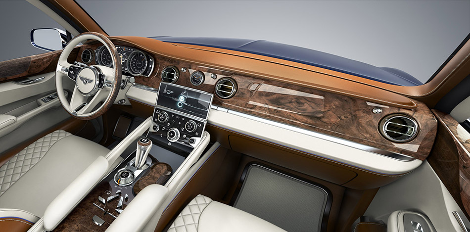 2012 Bentley EX9 F Concept Interior
