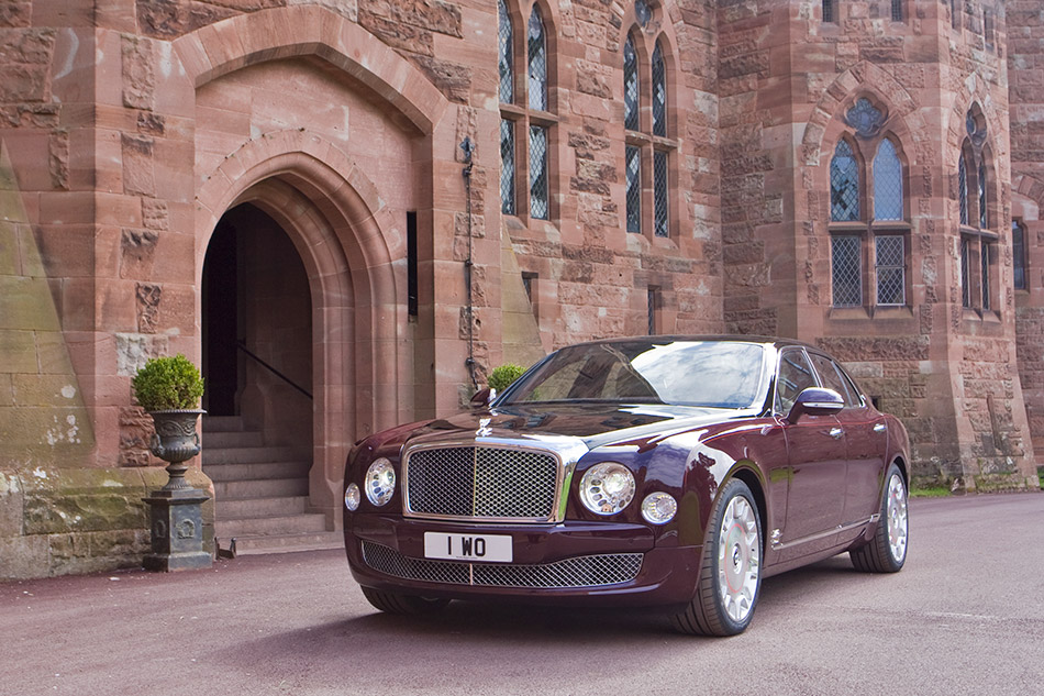 2012 Bentley Mulsanne Diamond Jubilee Edition Front Angle