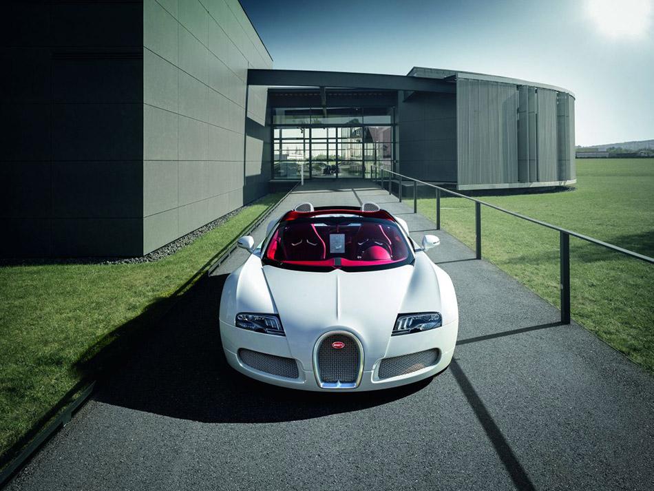2012 Bugatti Veyron Grand Sport Wei Long Front