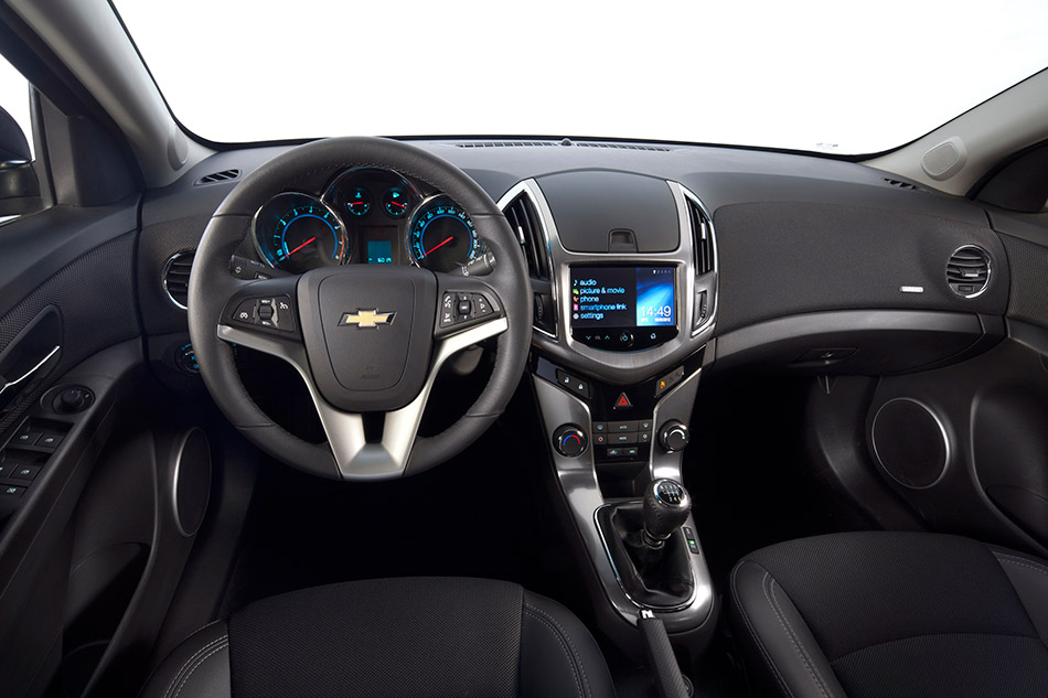 2012 Chevrolet Cruze Wagon Interior