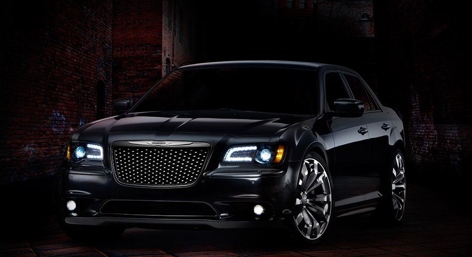 2012 Chrysler 300 Ruyi Design Concept Front Angle