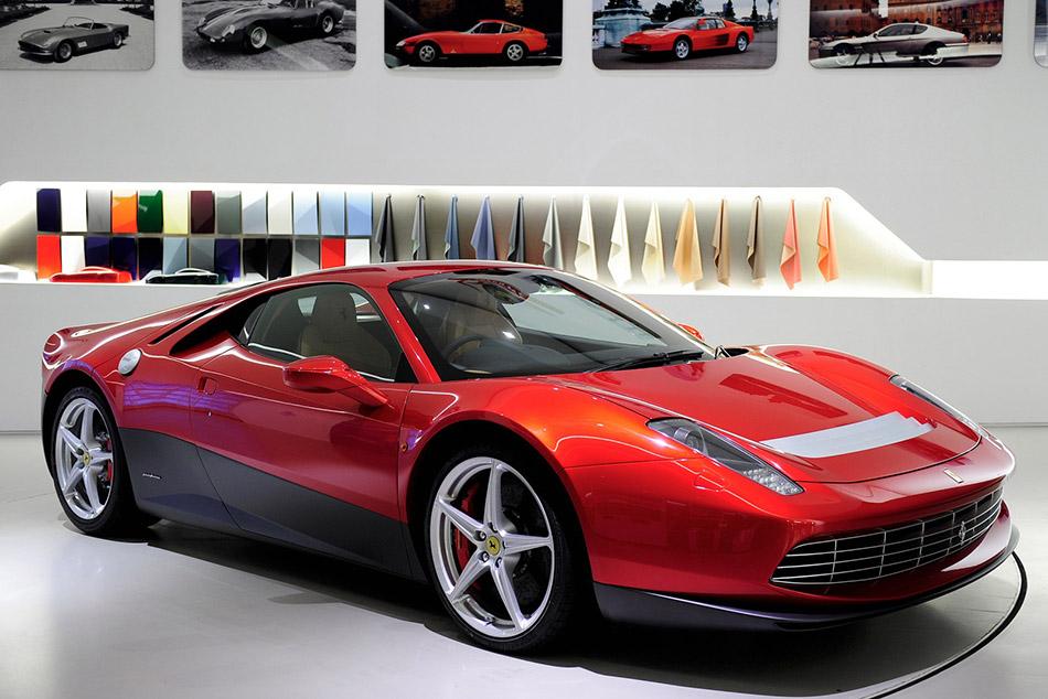 2012 Ferrari SP12 EC Front Angle