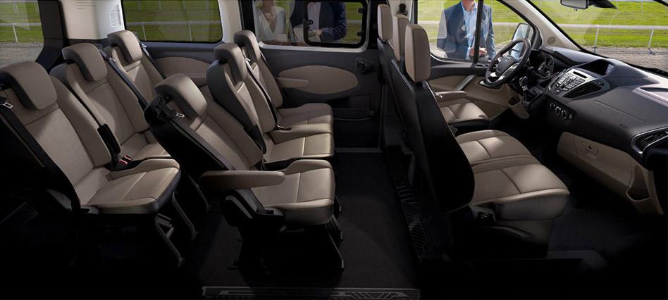 2012 Ford Tourneo Custom Interior