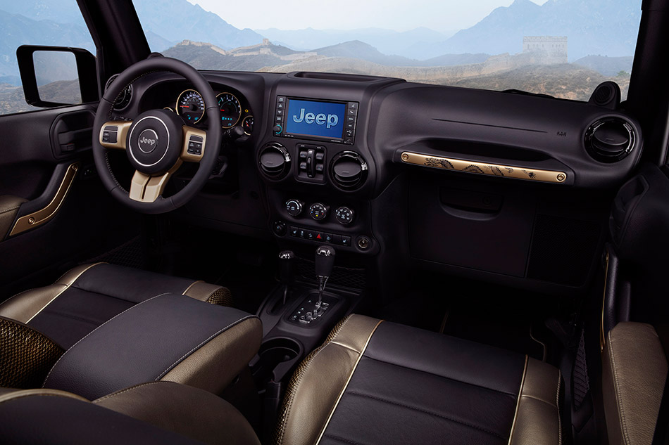 2012 Jeep Wrangler Dragon Design Concept Interior