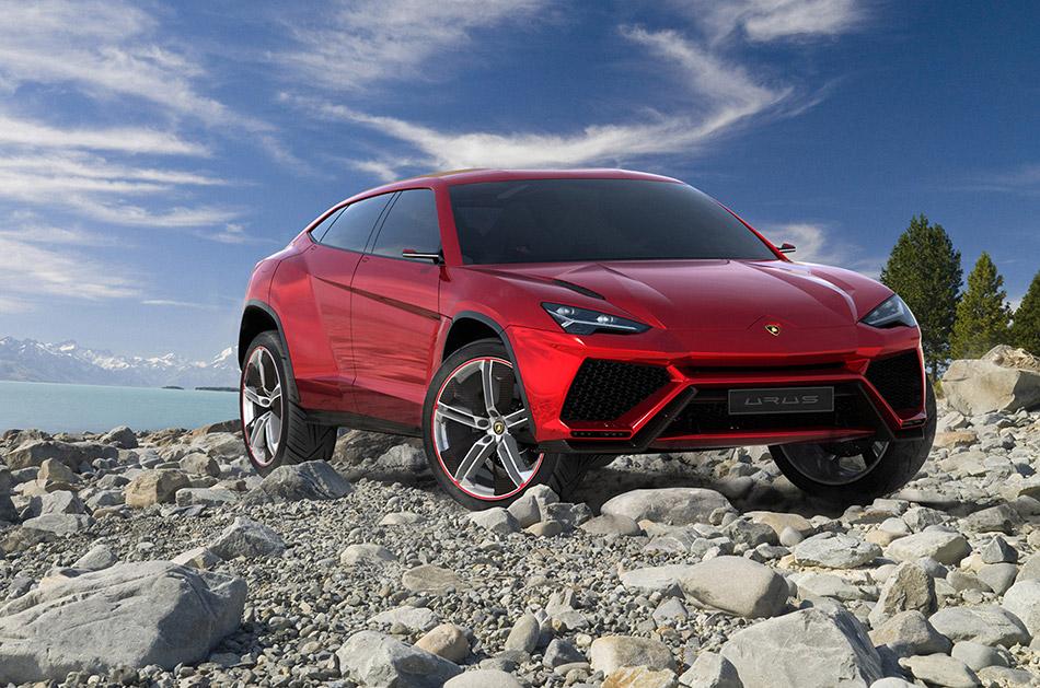 2012 Lamborghini Urus Concept Front Angle