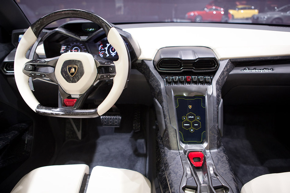 2012 Lamborghini Urus Concept Interior