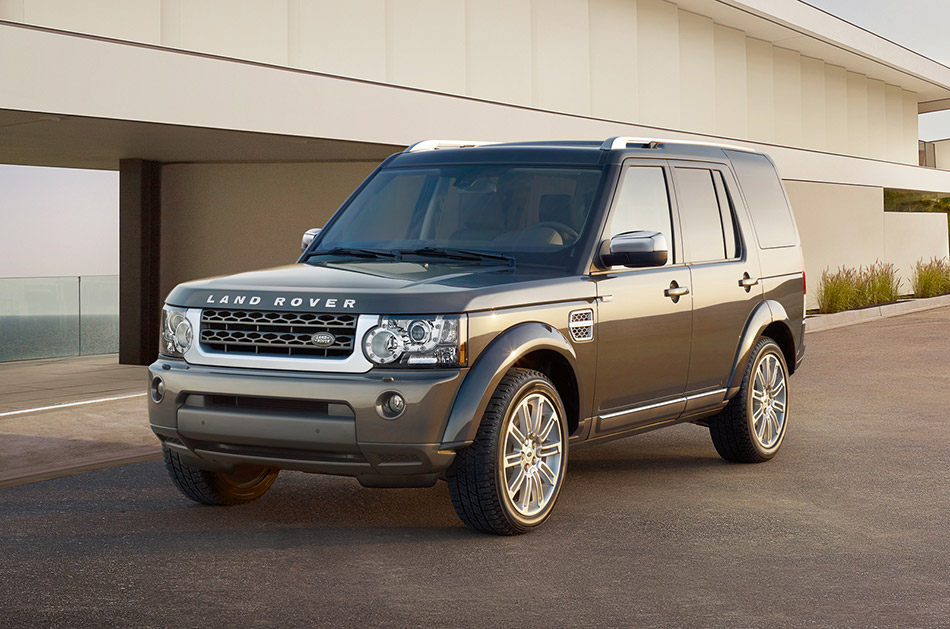 2012 Land Rover LR4 HSE Luxury Limited Edition Front Angle