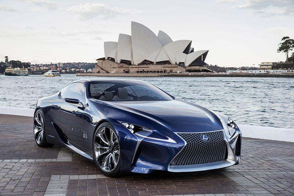 2012 Lexus LF-LC Concept Front Angle