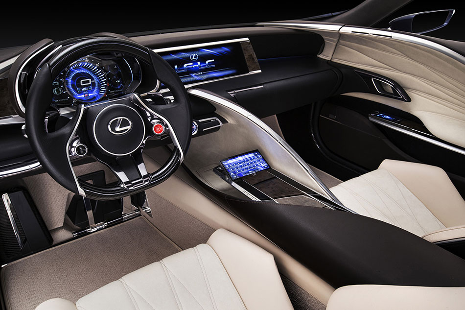 2012 Lexus LF-LC Concept Interior
