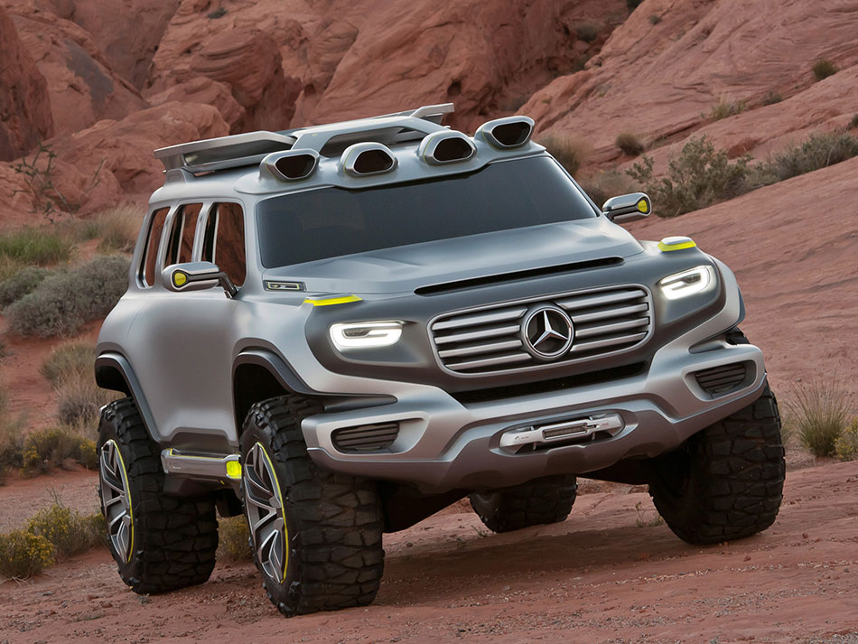 2012 Mercedes-Benz Ener-G Force Concept Front Angle