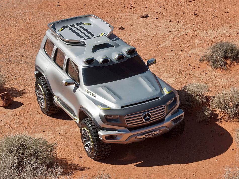2012 Mercedes-Benz Ener-G Force Concept Front Top
