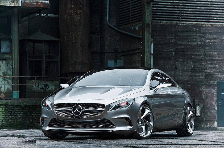 2012 Mercedes-Benz Style Coupe Concept Front Angle