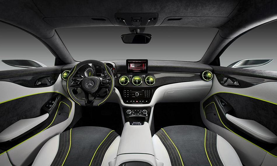 2012 Mercedes-Benz Style Coupe Concept Interior
