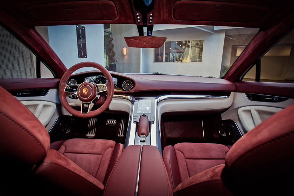 2012 Porsche Panamera Sport Turismo Concept  Interior
