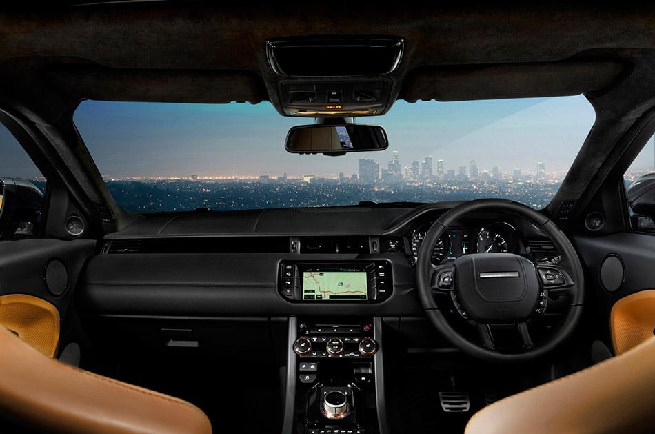 2012 Range Rover Evoque Victoria Beckham Edition Interior