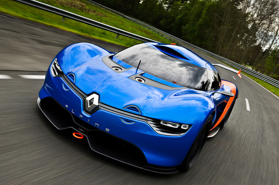2012 Renault Alpine A110-50 Concept Front Angle